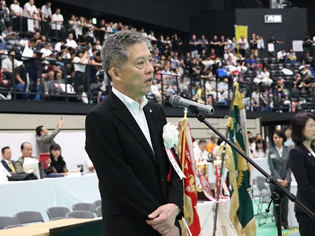 柴田建哉西日本新聞社代表取締役社長挨拶