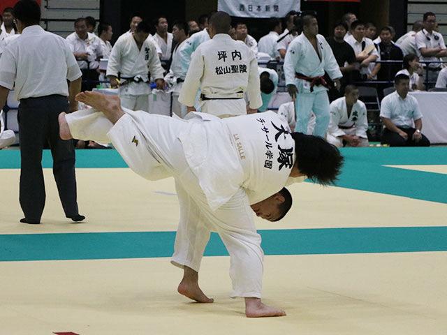 男子2回戦 習志野高校vsラ・サール高校