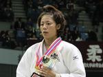 女子57kg級優勝 牧志津香選手