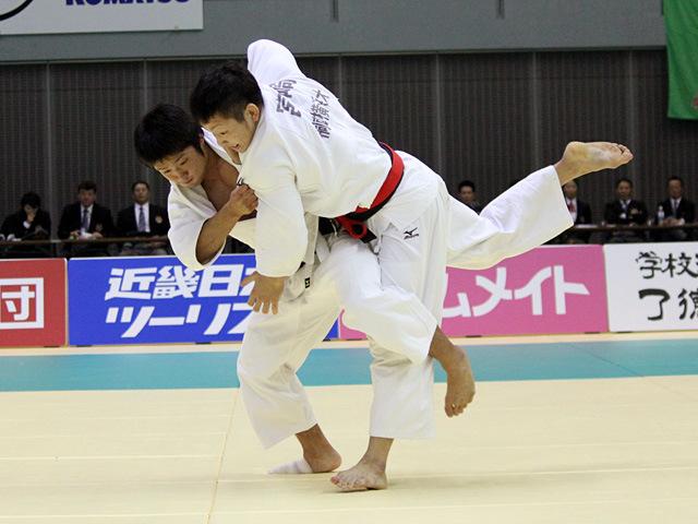 66kg級 宮崎廉 vs 丸山城志郎�A