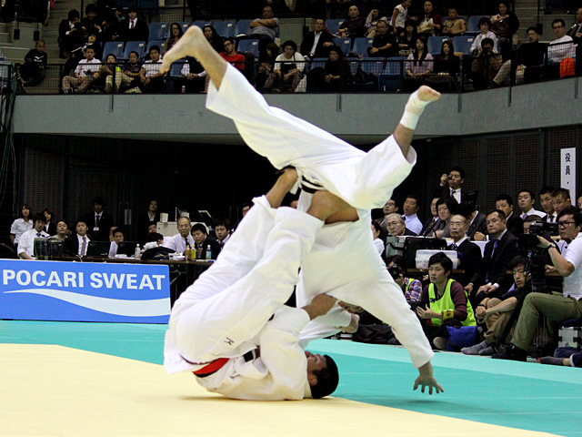 90kg級 加藤博剛 vs ベイカー茉秋�@