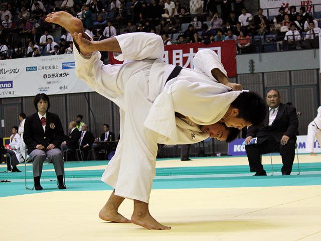 100kg級 高木海帆 vs 飯田健伍
