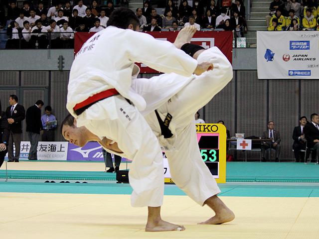 100kg級 ウルフアロン vs 藤原浩司