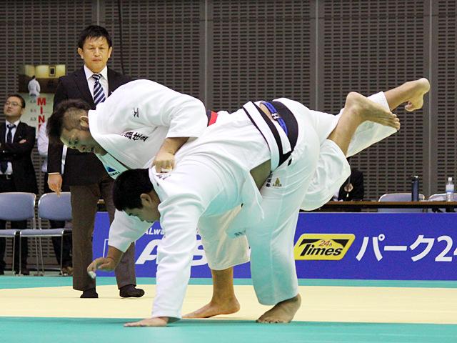 100kg超級 高橋和彦 vs 小川雄勢