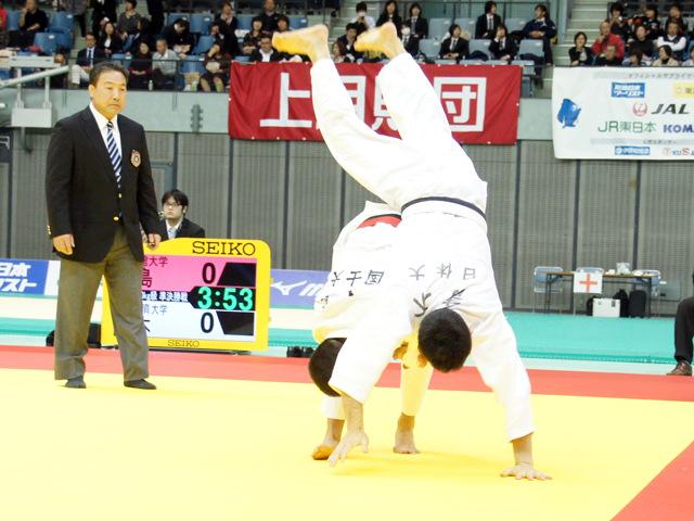 男子60kg級 準決勝戦 青木大 vs 大島優磨