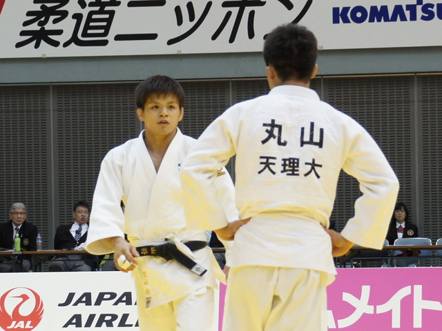 男子66kg級 決勝戦 竪山将 vs 丸山城志郎�@