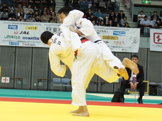 男子73kg級 3位決定戦 福岡克仁 vs 太田慶一