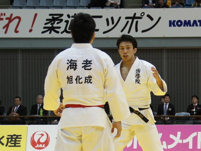 男子81kg級 決勝戦 海老泰博 vs 川上智弘�@