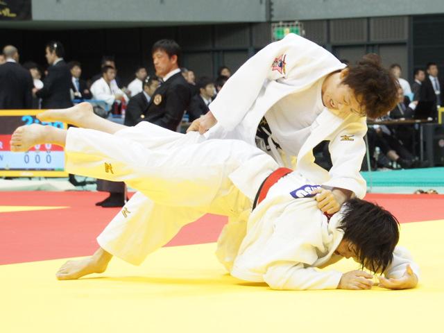 女子70kg級 3回戦 大野陽子 vs 宇野友紀子
