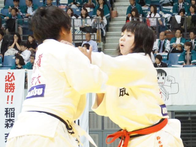 女子78kg級 2回戦 鈴木伊織 vs 赤嶺麻佑�@