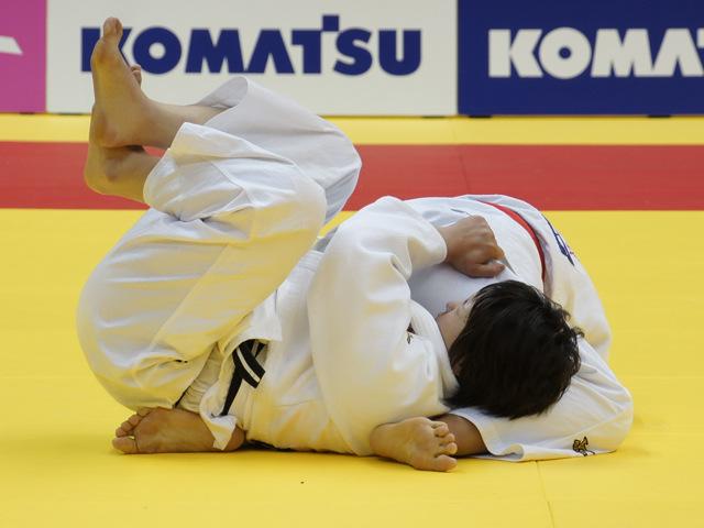 女子78kg級 決勝戦 �M田尚里 vs ��山莉加�A