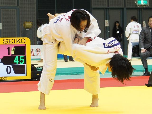 57kg級 谷川美歩 vs 月野珠里