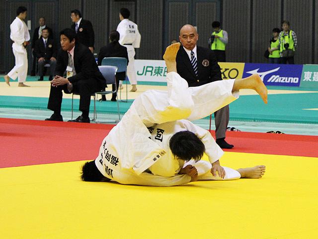 男子66kg級 阿部一二三 vs 原田誠丈