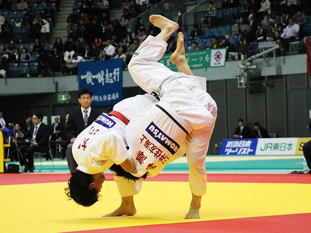 女子70kg級 大野陽子 vs 柿澤史歩