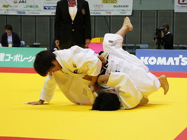 女子78kg級 佐藤瑠香 vs 吉村静織