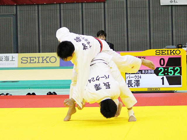 男子90kg級 準決勝戦  長澤憲大 vs 加藤博剛