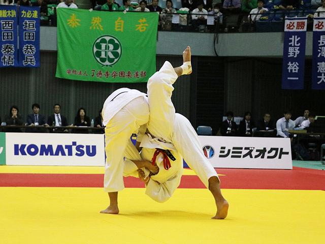 男子90kg級 決勝戦  長澤憲大 vs 釘丸太一�@