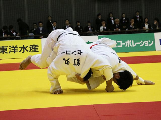 男子90kg級 決勝戦  長澤憲大 vs 釘丸太一�A