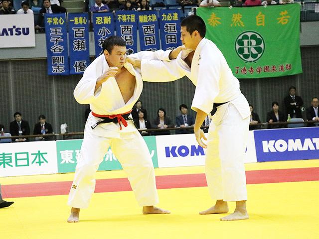男子100kg級 決勝戦 ウルフアロン vs 飯田健太郎�@