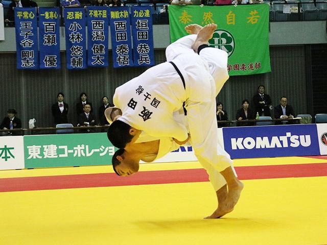 男子100kg級 決勝戦 ウルフアロン vs 飯田健太郎�A