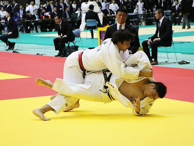 男子100kg超級 3回戦 七戸龍 vs 太田彪雅