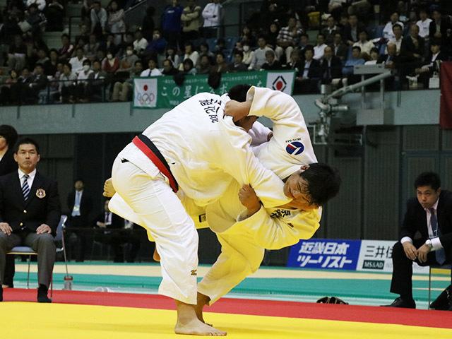 男子100kg超級 王子谷剛志 vs 上川大樹