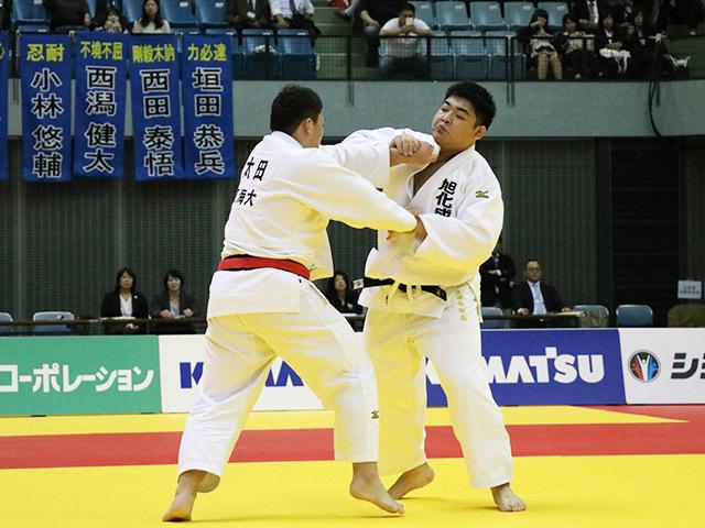 男子100kg超級 決勝戦 王子谷剛志 vs 太田彪雅�@