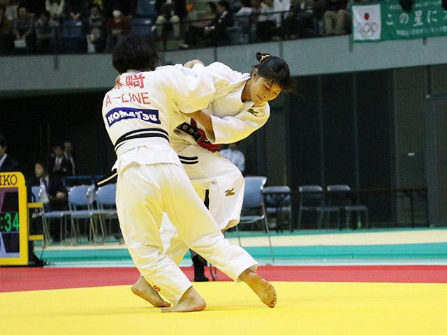 女子48kg級 準決勝戦 小倉葵 vs 森崎由理江