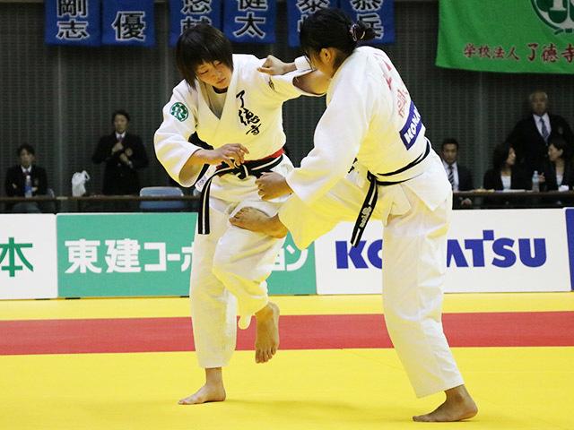 女子52kg級 決勝戦 角田夏実 vs 立川莉奈�@