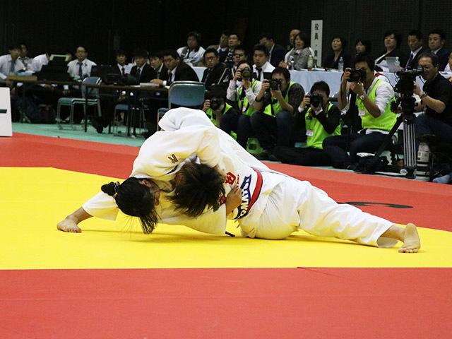 女子52kg級 決勝戦 角田夏実 vs 立川莉奈�A