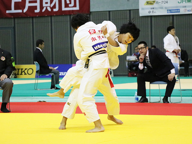 女子57kg級 1回戦 舟久保遥香 vs 臼井杏