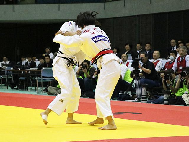 女子57kg級 決勝戦 石川慈 vs 宇高菜絵�@
