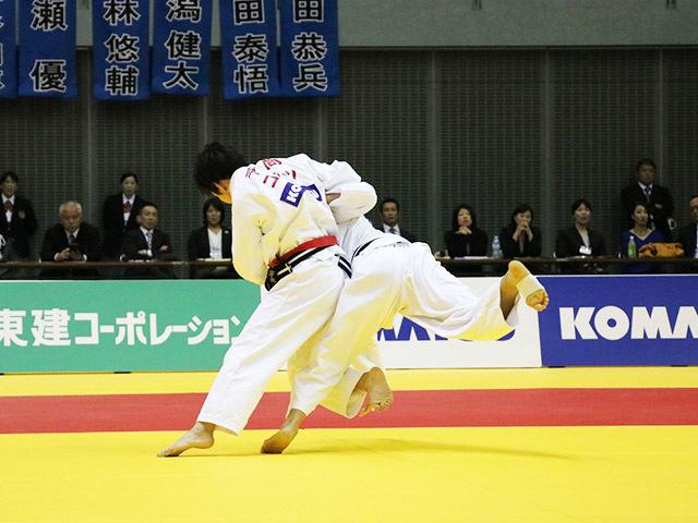 女子57kg級 決勝戦 石川慈 vs 宇高菜絵�A