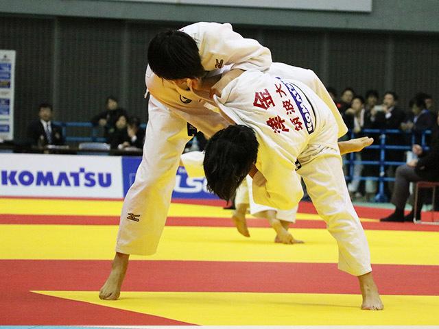 女子63kg級 津金恵 vs 大住有加