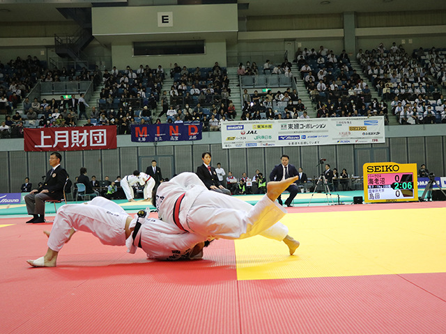 男子73kg級 海老沼匡 vs 島田隆志郎