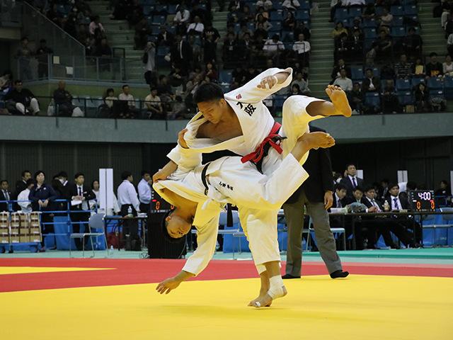 男子81kg級 糸井滉平 vs 小原拳哉