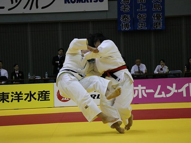 女子78kg級 �M田尚里 vs 和田梨乃子