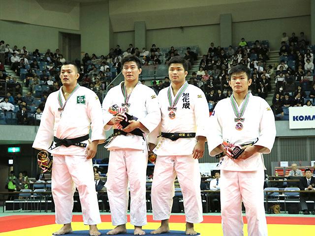 平成29年度講道館杯全日本柔道体重別選手権大会 男子90kg級表彰式