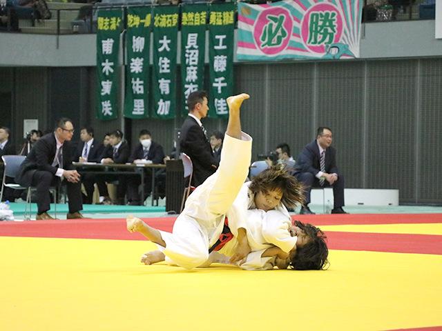 女子52kg級 立川莉奈 vs 宮川拓美