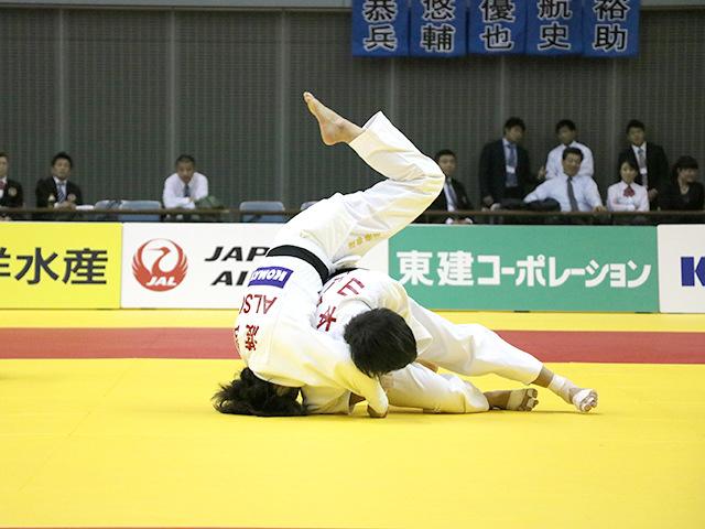 女子57kg級 山本杏 vs 渡部優花