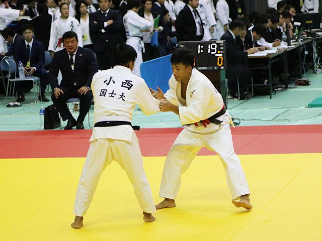 男子60kg級 3回戦 青木大 vs 小西誠志郎