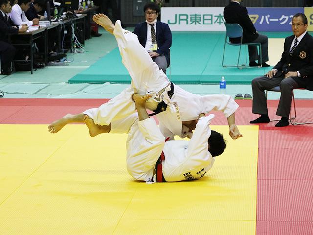 男子60kg級 準々決勝戦 宮本拓実 vs 森田将矢