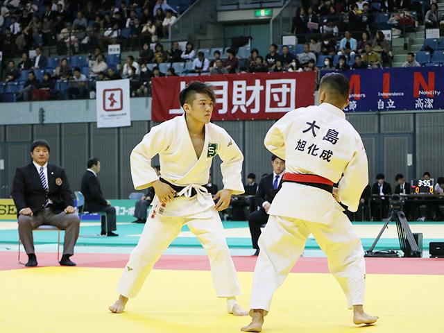 男子60kg級 準決勝戦 大島優磨 vs 米村 克麻