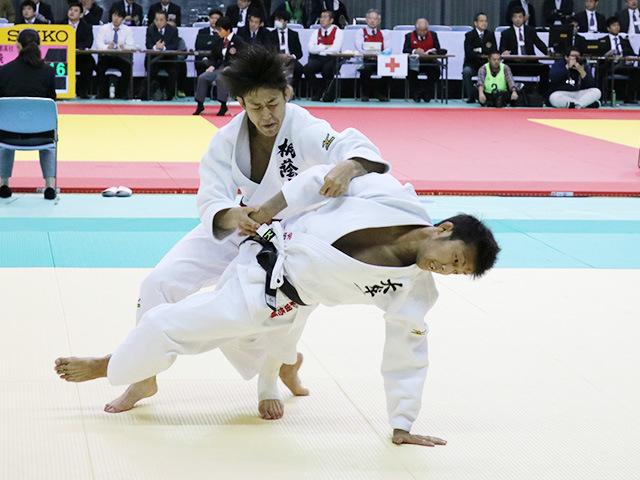 男子66kg級 2回戦 山田聖斗 vs 柴田悠輔