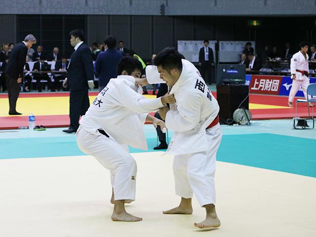 男子66kg級 3回戦 西山祐貴 vs 相田勇司