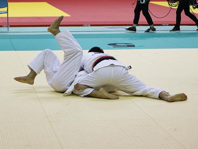 男子66kg級 準々決勝戦 磯田範仁 vs 島達人