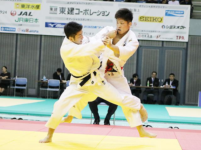 男子66kg級 準決勝戦 藤阪泰恒 vs 磯田範仁