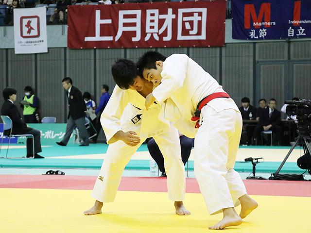 男子81kg級 2回戦 佐々木健志 vs 笠原大雅