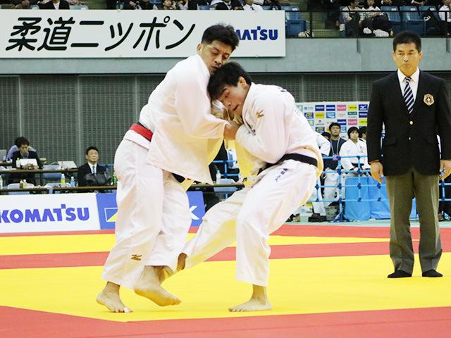 男子81kg級 準決勝戦 長島啓太 vs 佐藤正大