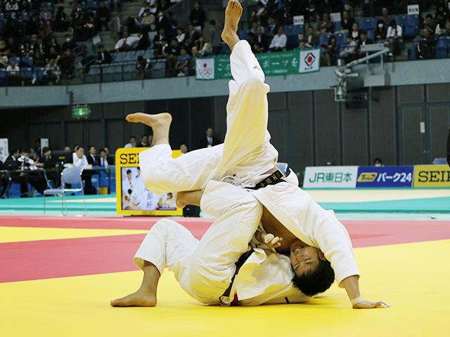 男子81kg級 準決勝戦 小原挙哉 vs 中園史寛